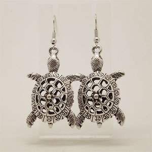 Turtle Retro Vintage Earrings - $13 with FREE Shipping!