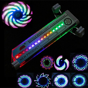 32 Bulb Count LED Wheel Light - $14 with FREE Shipping!