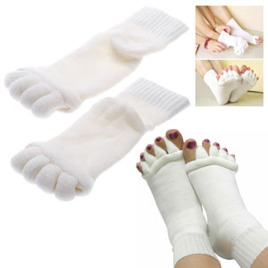 Toe Stretching Foot Alignment Socks - $15 with FREE Shipping!