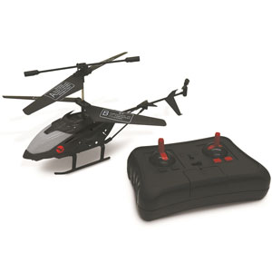 Black Falcon Remote Control Helicopter- $30 with Free Shipping