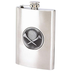 Golfers Flask- $8.50 with Free Shipping