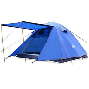 3-4 Person Water/Wind Proof Camping Tent with Gazebo - $110 with FREE Shipping!