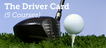 The Driver Golf Card