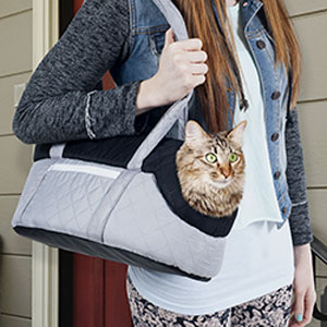 PAW Cozy Cat Travel Pet Carrier - Soft Sided- $19 with Free Shipping