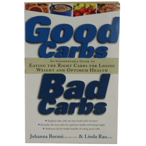 Good Carbs Bad Carbs Health Book- $6.50 with Free Shipping