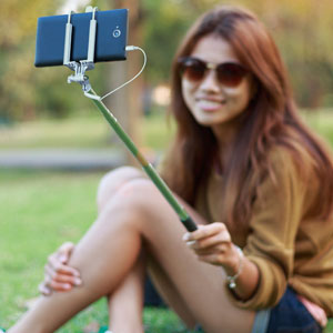 Compact Selfie Stick - $12 with FREE Shipping!