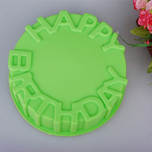 Happy Birthday Message Cake Mold - $14 with FREE Shipping!