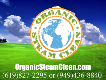 Organic Steam Cleaning Services (North County SD)