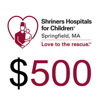 Shriners Hospitals for Children Springfield Donation $500.00