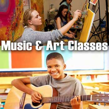 $100 Certificate towards Music or Art Classes