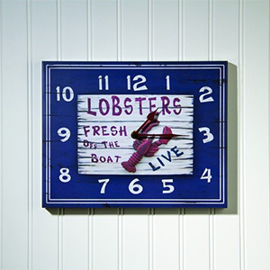 Fresh Lobster Clock - $30 with Free Shipping