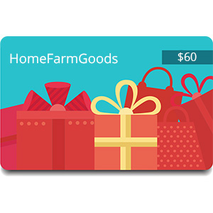 $60 Voucher to HomeFarmGoods