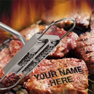 Personalized BBQ Branding Iron - $18 with FREE Shipping!