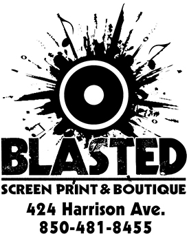 Blasted Screen Print and Boutique
