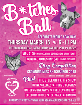 General Admission Tickets to the B*tches Ball!