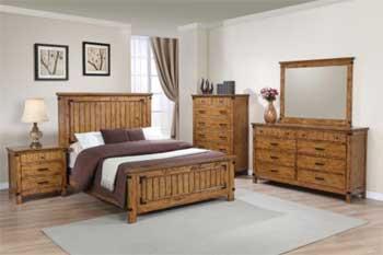 Bedroom Set w/Mattress