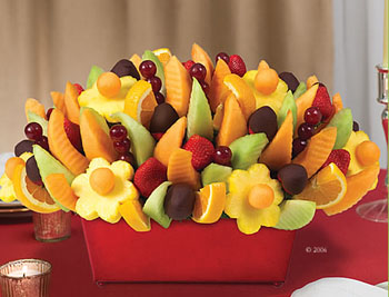 supper yummy edible arrangement