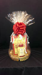 Flicks Package Liquor $20 for $10 valid on your choice of 3  gift baskets
