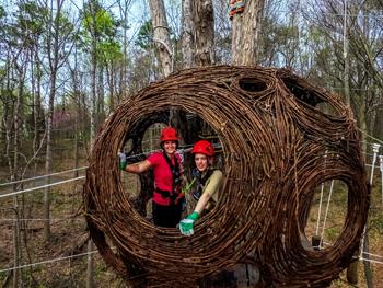 2 Adventure Passes to Navitat at Ijams Nature Center