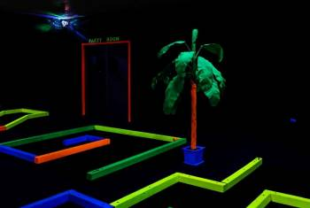Glow In One Mini Golf - 5 Round Punch Card