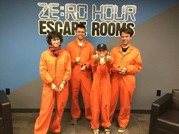 Zero Hour Escape Rooms-2 tickets for Price of One