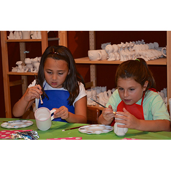 Premium Pottery Painting Birthday For 10!
