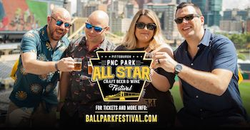 The All Star Craft Beer, Wine & Cocktail Festival at PNC Park! (Session 2)