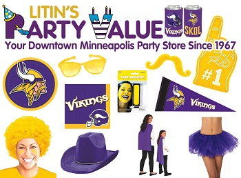Litin's Party Value $50 Gift Voucher for only $25