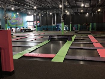 2 Passes to Flying Squirrel Trampoline Park in Cranberry Township!