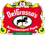 Four Pack of Tickets to Del Grosso's Amusement Park