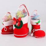 3-Piece Set: Santa&#39s Boot Gift Boxes - $14.99 With FREE Shipping