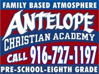 Antelope Christian Academy Preschool