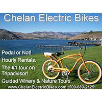 Chelan Electric Bikes- Wine Tour