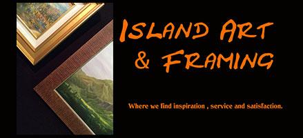 Island Art & Framing - Orchid