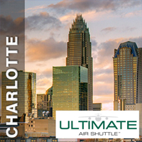 25% off one round-trip ticket to Charlotte, NC