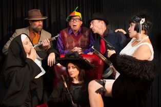 Mystery Cafe San Diego Dinner Theater: 2 Tickets to a 2-Hour Murder Mystery Show & a 3 Course Meal