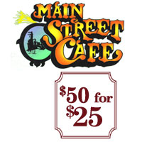 Main Street Cafe - November 16, 2018
