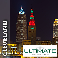 25% off of a round-trip ticket to Cleveland