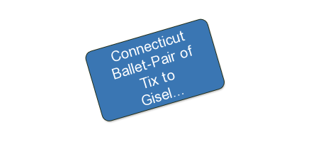 Connecticut Ballet-Pair of Tix to Giselle