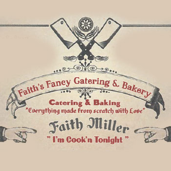 1/2 off at Faith's Fancy Catering