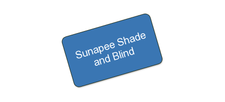 Sunapee Shade and Blind - One certificate for $250 worth of shades or blinds