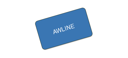 AWLINE - Certificate for 1 Year of Services