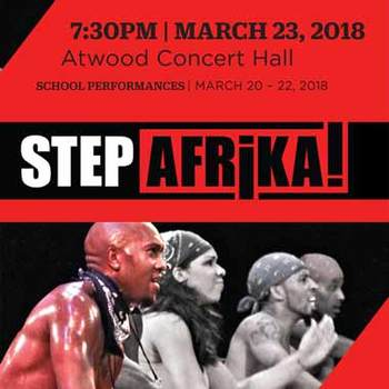 Alaska Junior Theater - Pair of tickets to Step Afrika! Modern Step & Traditional African Dance