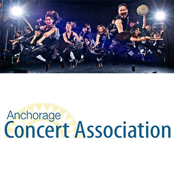 Anchorage Concert Association - Pair of tickets to TAIKOPROJECT