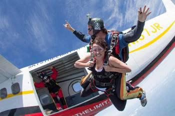 Sky's the Limit Skydiving Center - $205 Voucher