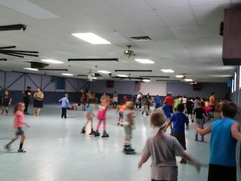 Valarena Roller Rink in North Apollo!