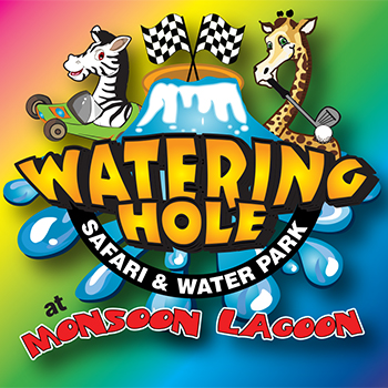 Family 4-Pack Daily Mega Tickets to Watering Hole Safari and Waterpark