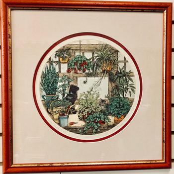 Art & Frame Shop - The Garden Room - Framed Artwork