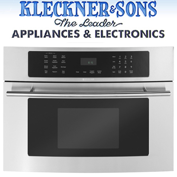 Kleckner & Sons - Whitehall Store - Jenn-air Floating Glass Built-In Stainless Steel Microwave