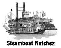 Steamboat Natchez Day Cruise for 2